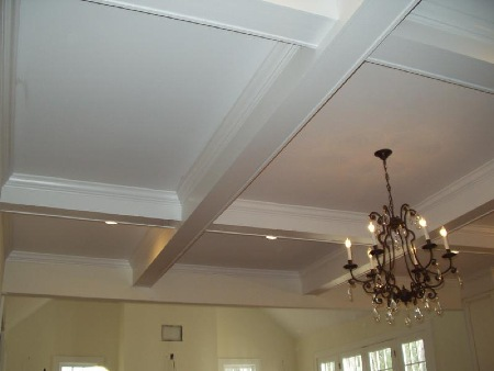 How to Paint a Coffered Ceiling | eHow.com
